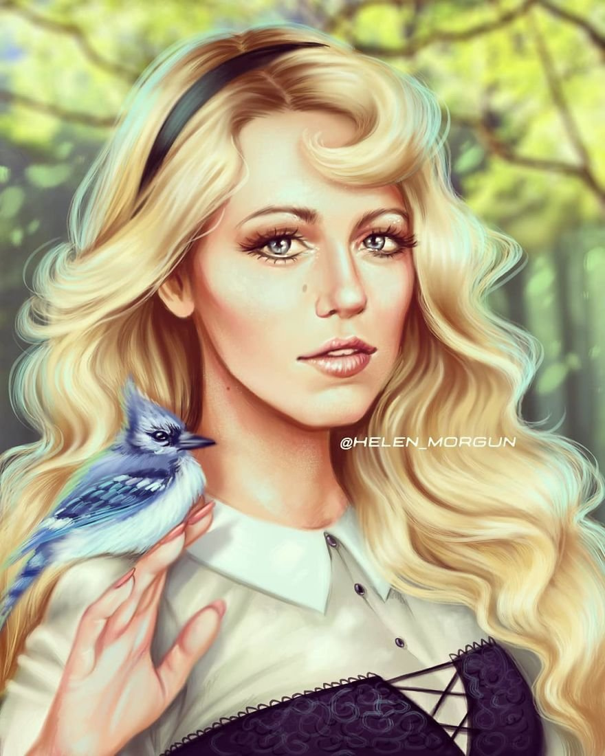 Blake Lively As Aurora