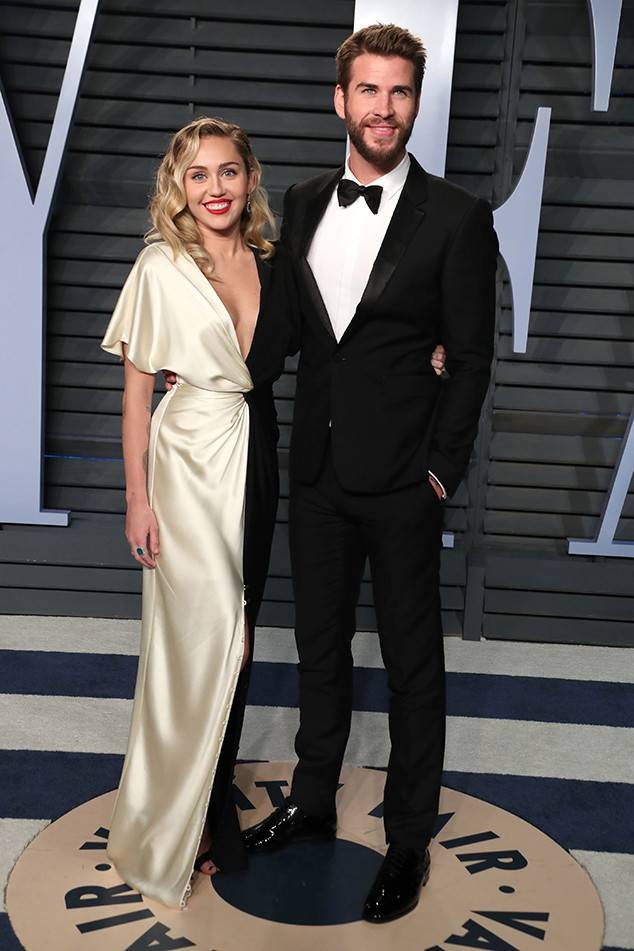 Resultado de imagen de Miley Cyrus y Liam Hemsworth