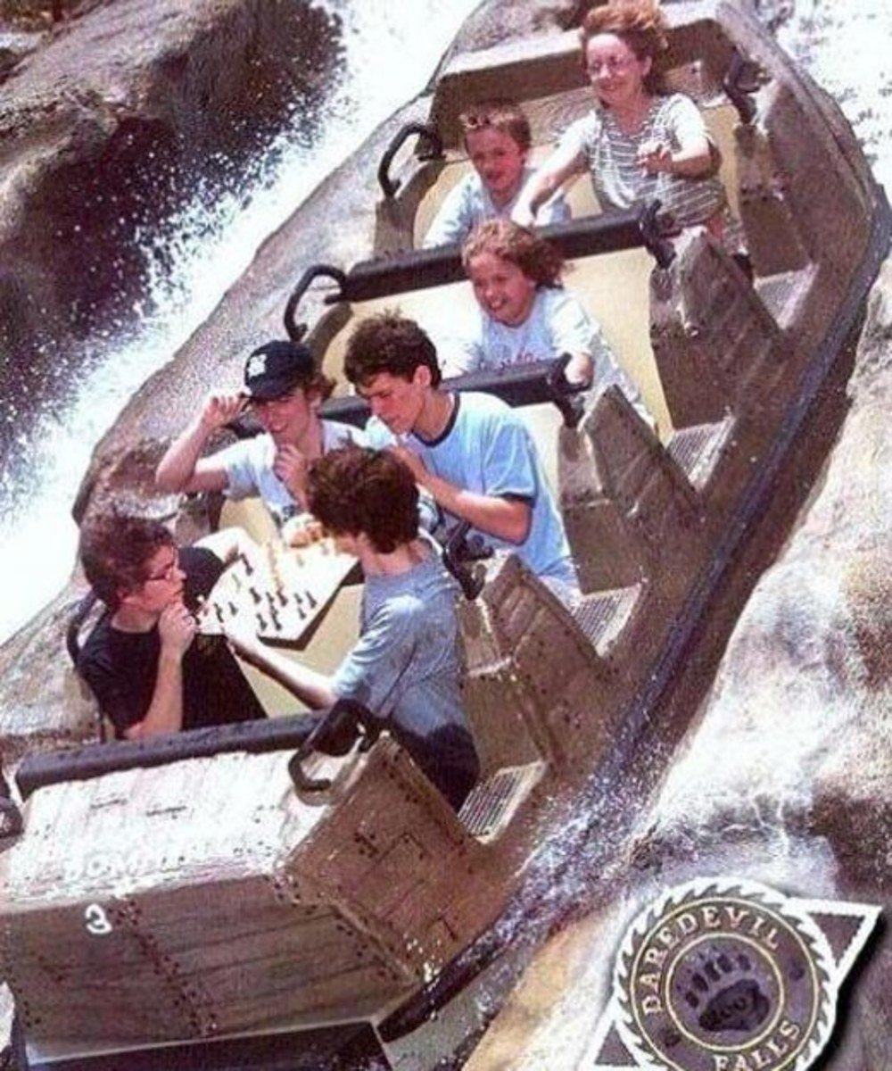 funny roller coaster photos chess