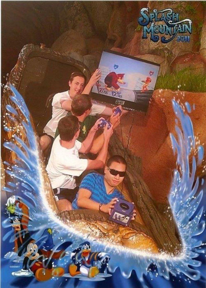 funny roller coaster photos gaming