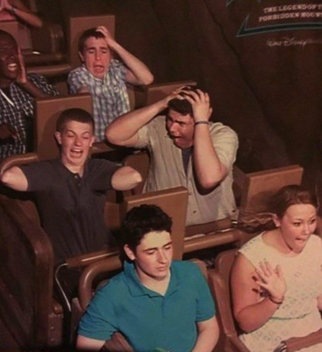 funny roller coaster photos no arms