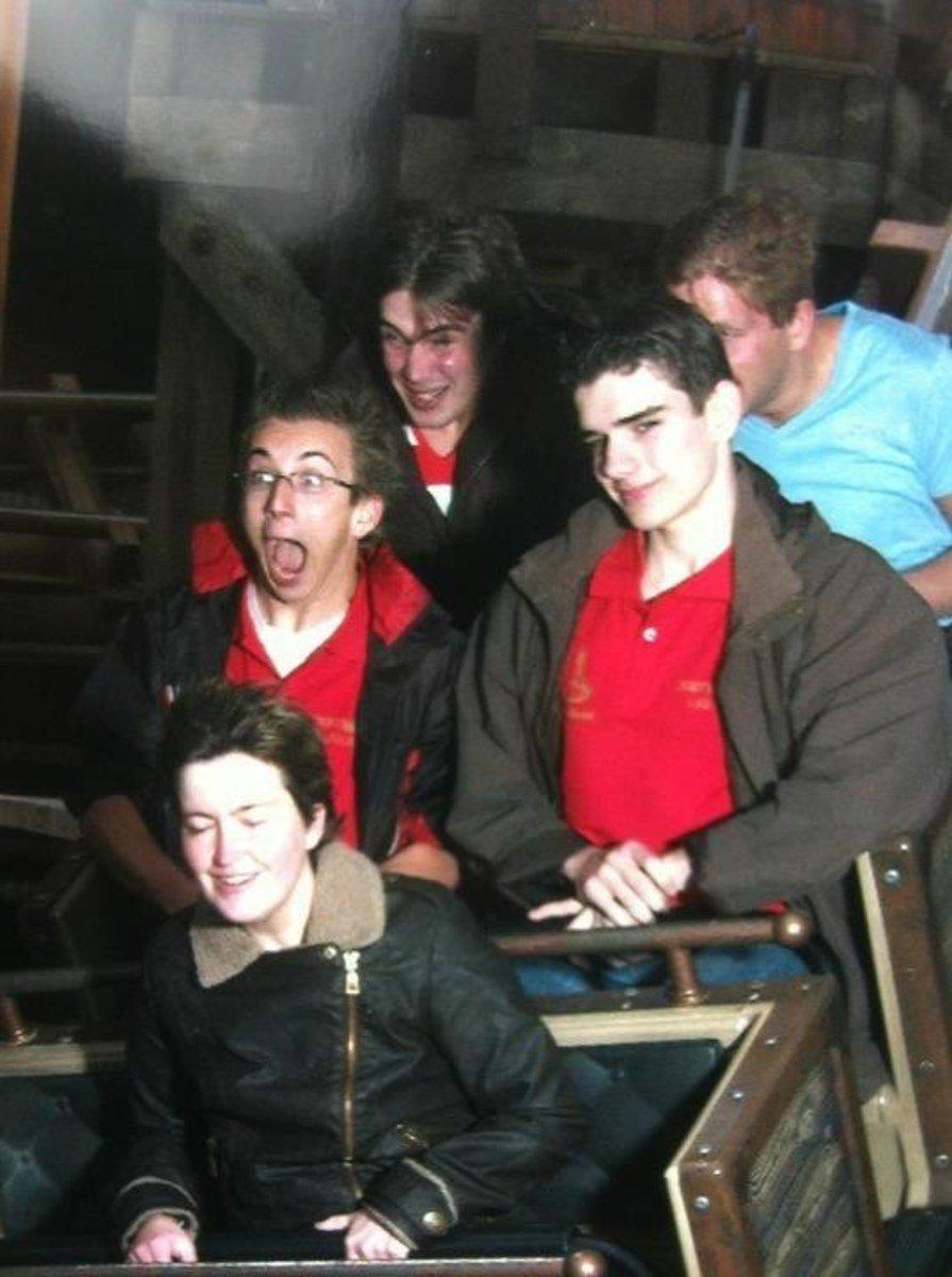funny roller coaster photos sup