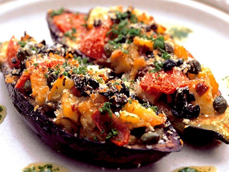 aubermozza.jpg?resize=412,232 - A vos fourneaux: La recette des aubergines farcies à la mozzarella