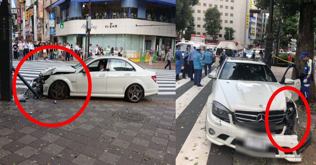 bentsu.png?resize=1200,630 - 池袋駅近くで70代男性の乗るベンツが暴走!いまだ無くなることのない高齢者の運転事故