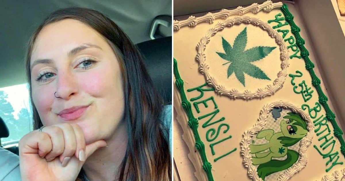 cake2.png?resize=1200,630 - Woman Ordered A Disney-Themed Cake For Daughter's Birthday, Gets Marijuana Cake Instead By Accident
