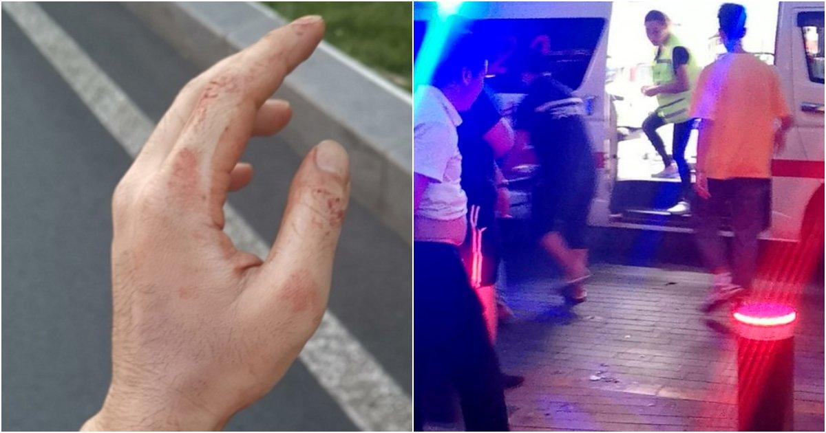 collage 50.png?resize=412,232 - 中'칼에 찔린 피해자 외면'....도운것은 '한국청년'