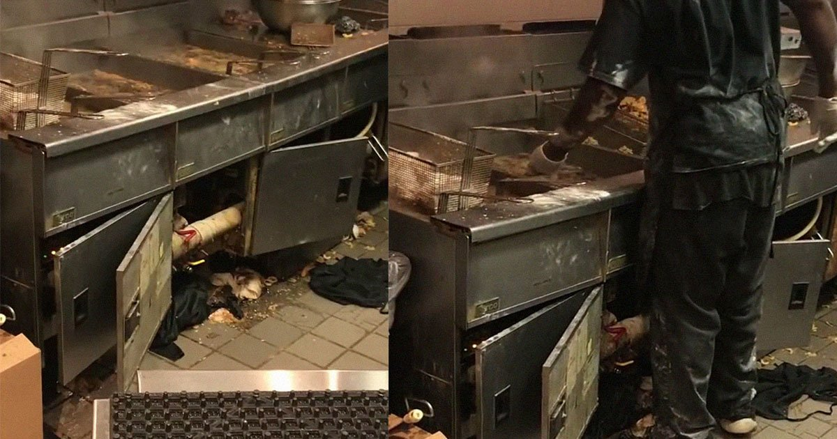 customer shared the video of hooters kitchen and it went viral for all the wrong reasons.jpg?resize=1200,630 - Take A Look At How 'Sanitary' Hooters Kitchen Is