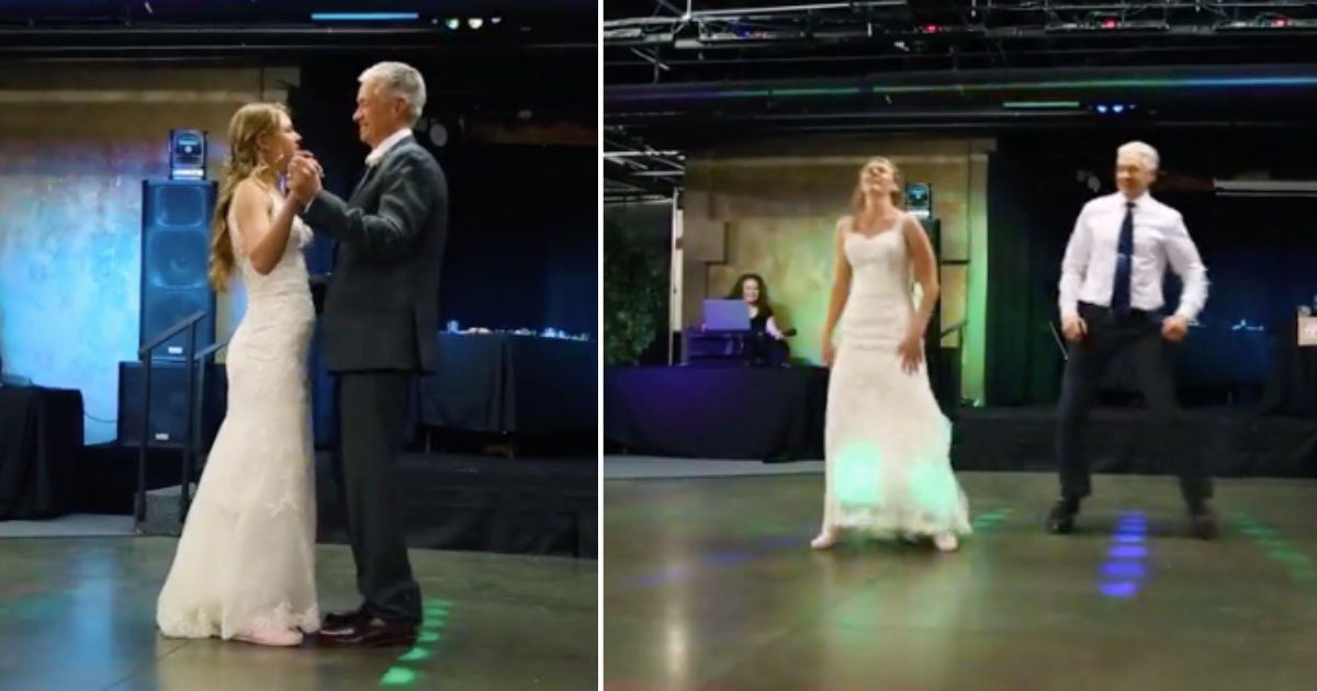 d4 3.png?resize=412,275 - A Father-Daughter Duo Performed Their Epic Dance Routine At Wedding