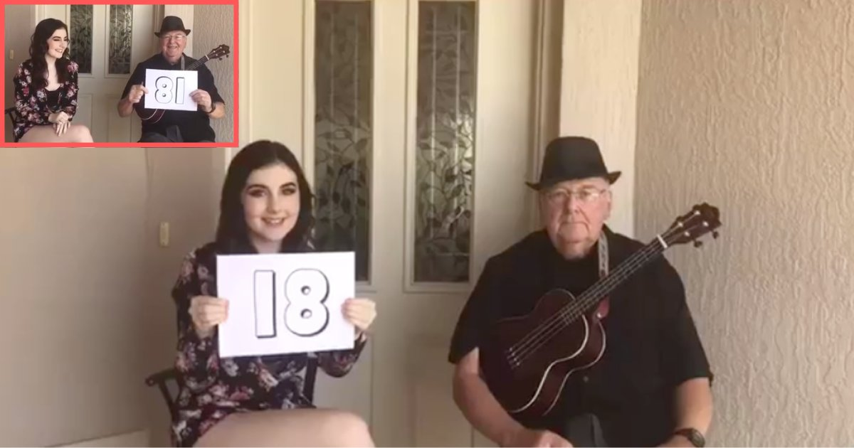d5 10.png?resize=412,232 - 18-Year-Old Performs with Her 81-Year-Old Grandfather In A Heartwarming Duet