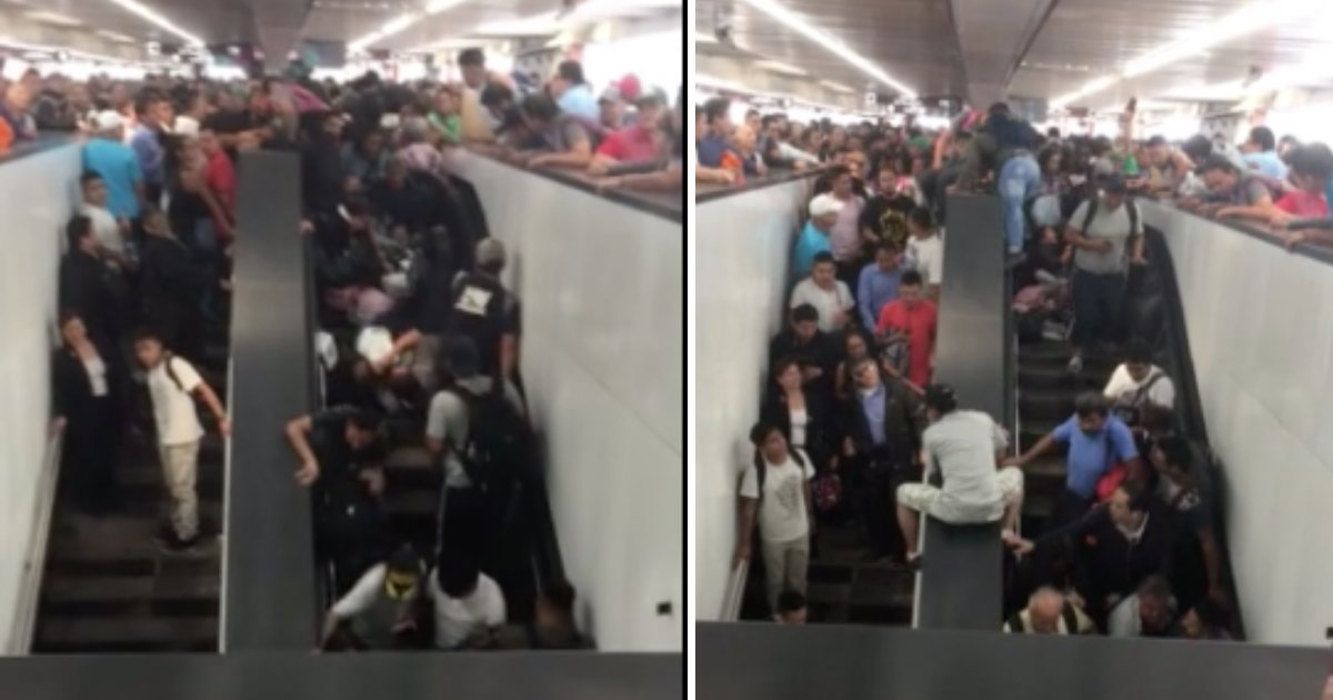 d5 18.png?resize=1200,630 - Escalator Kept Bringing People Upstairs But There Is No Space