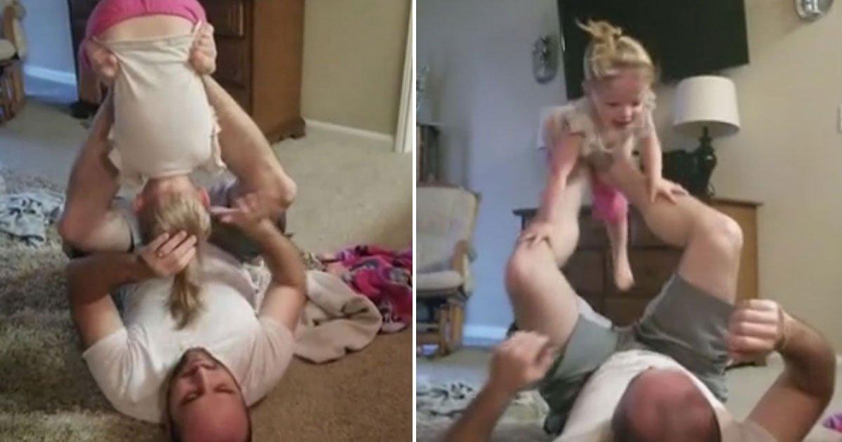 dad do hair daughter.jpg?resize=412,232 - Découvrez la technique de ce papa pour coiffer sa fille