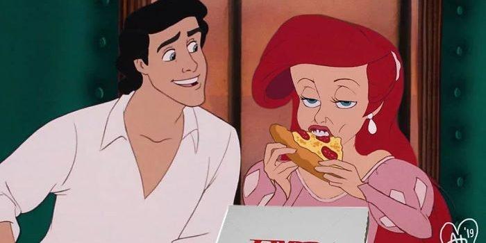 disney characters real life problems andhika muksin 3 5cf762b428cfc  700 e1563208061258.jpg?resize=412,275 - 17 Art Works Of Imagining Disney Princesses In Real Life