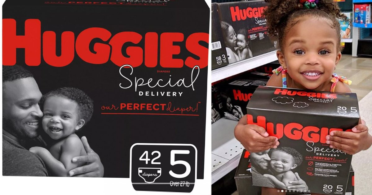 featured image 54.png?resize=412,232 - Huggies Praised For Featuring Black Dad And Baby On A New Diaper Line