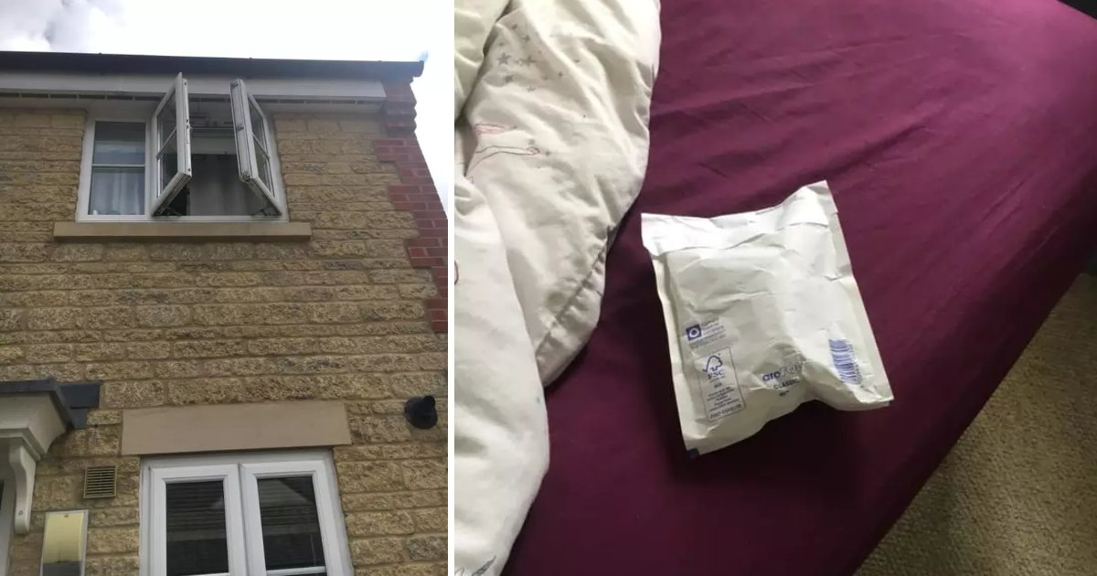 featured image 56.png?resize=412,232 - A Talented Postal Worker Delivered A Parcel By Throwing It Through An Open Window Of The Second Floor Apartment