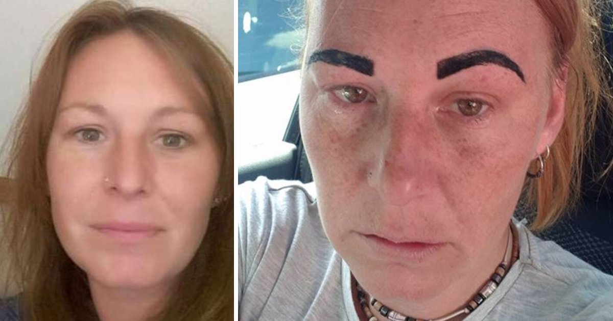 featured image 92.png?resize=1200,630 - Mom's Dream Holiday Was Ruined After Her Beauty Treatment Left Her With 'Angry Birds' Eyebrows