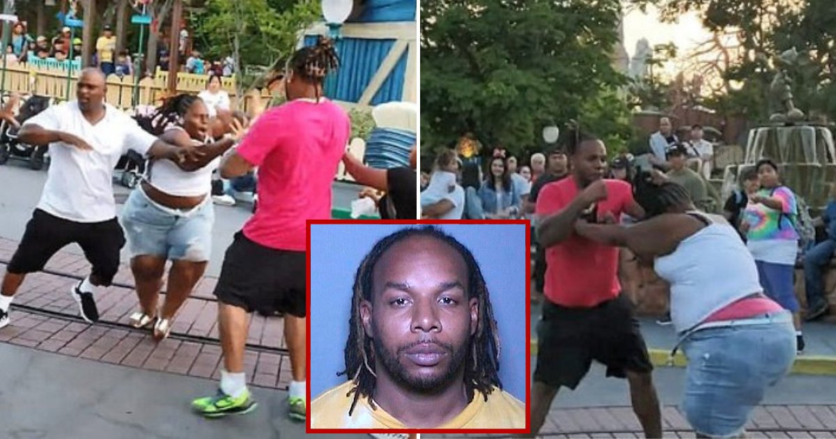 fight5.png?resize=1200,630 - 35-Year-Old Man Who Attacked His Girlfriend, Sister And Brother-In-Law In Disneyland Faces Seven Years In Jail