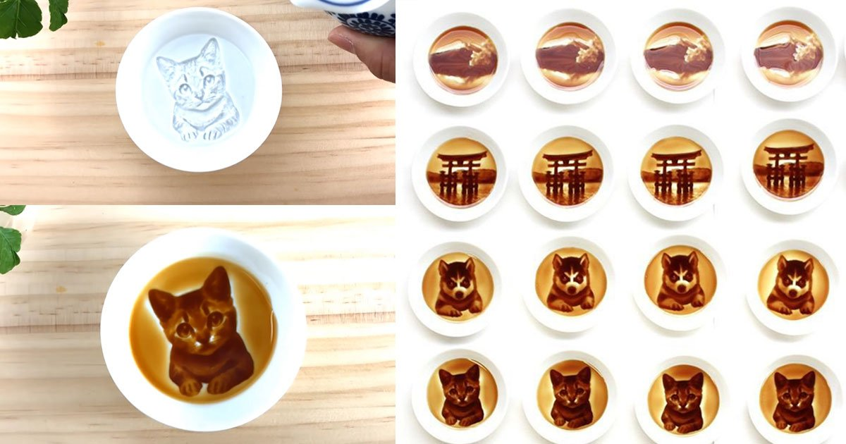 google news.jpg?resize=412,232 - These Cool Japanese Dishes Show Hidden Paintings When You Pour Soy Sauce Into Them