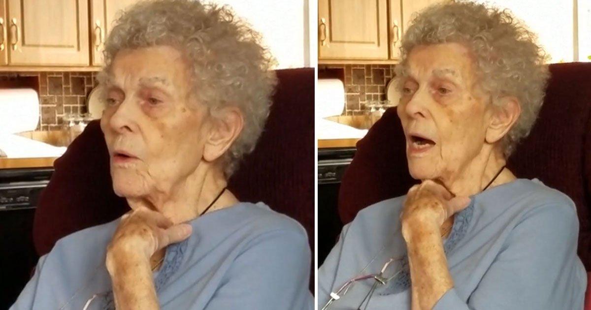 granny yodellig.jpg?resize=412,232 - Une grand-mère atteinte de la maladie d'Alzheimer oublie plusieurs choses, mais elle n'a pas oublié comment yodler