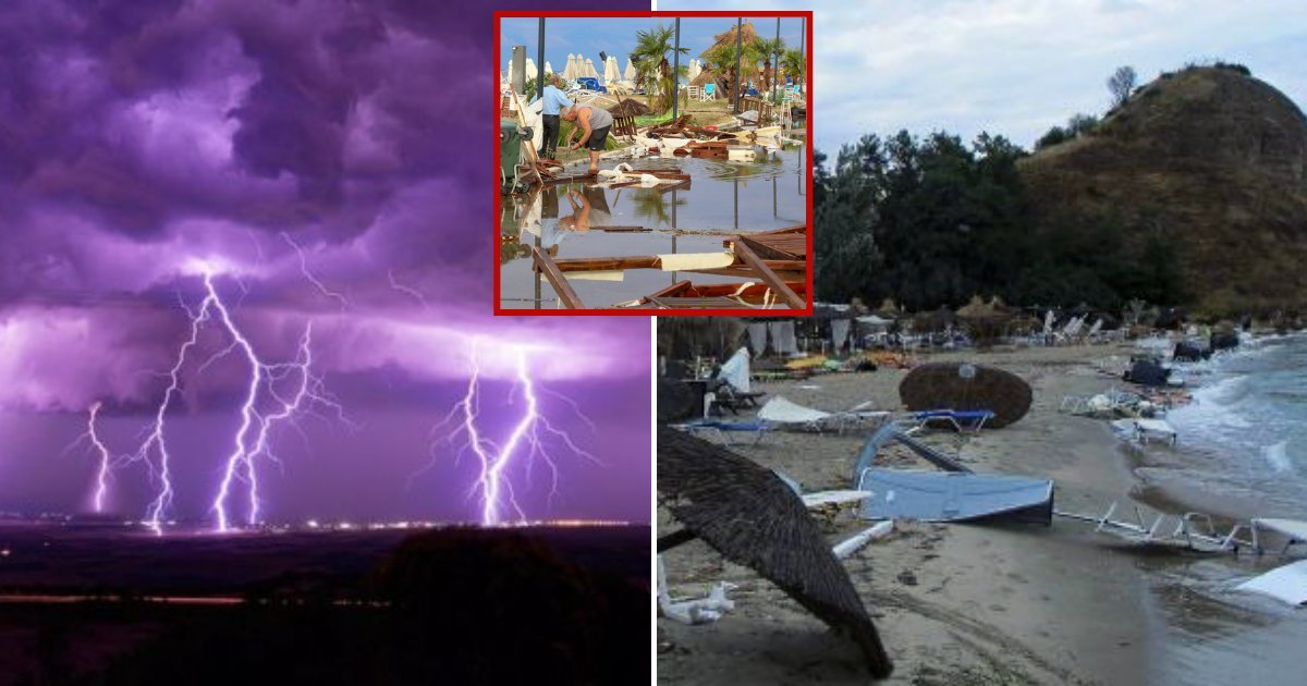 greece1.png?resize=412,232 - Six Tourists Passed Away And Over 130 Injured After Fierce Storms Struck Northern Greece