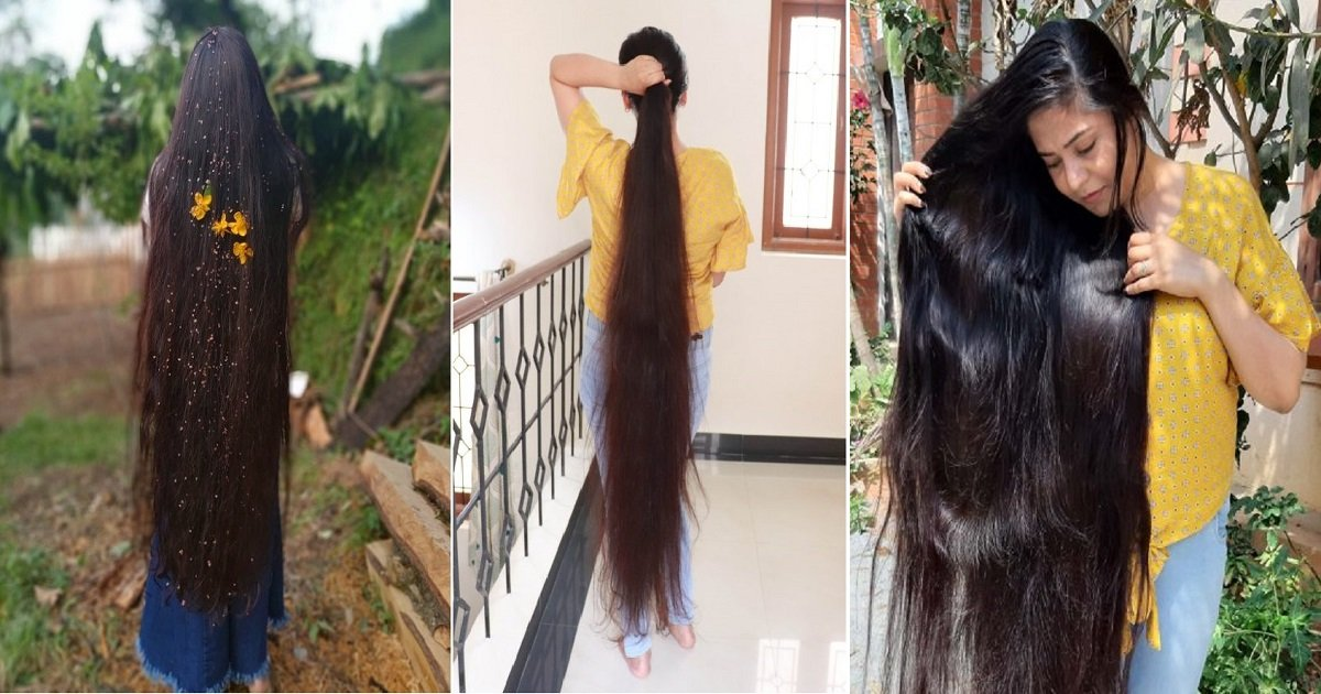 h4.jpg?resize=412,232 - This Woman Aka The Real Life Rapunzel Hasn't Had A Haircut For 30 Years