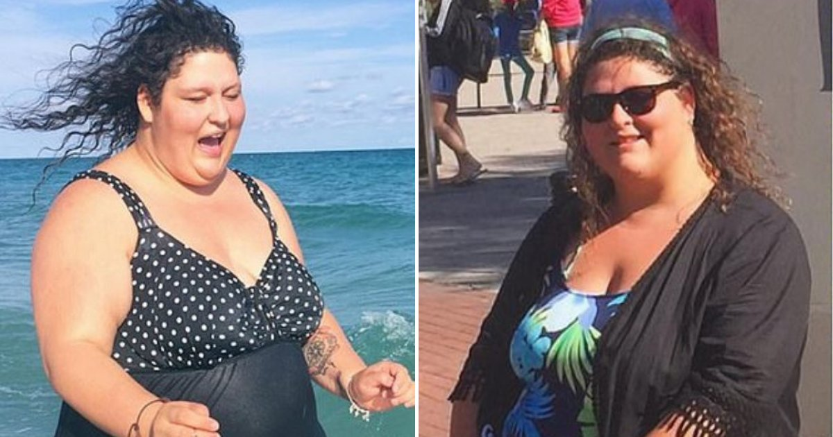 michelle7.png?resize=1200,630 - Obese Woman Who Became A Drug Addict Lost Half Of Her Body Weight And Became A Lifestyle Coach