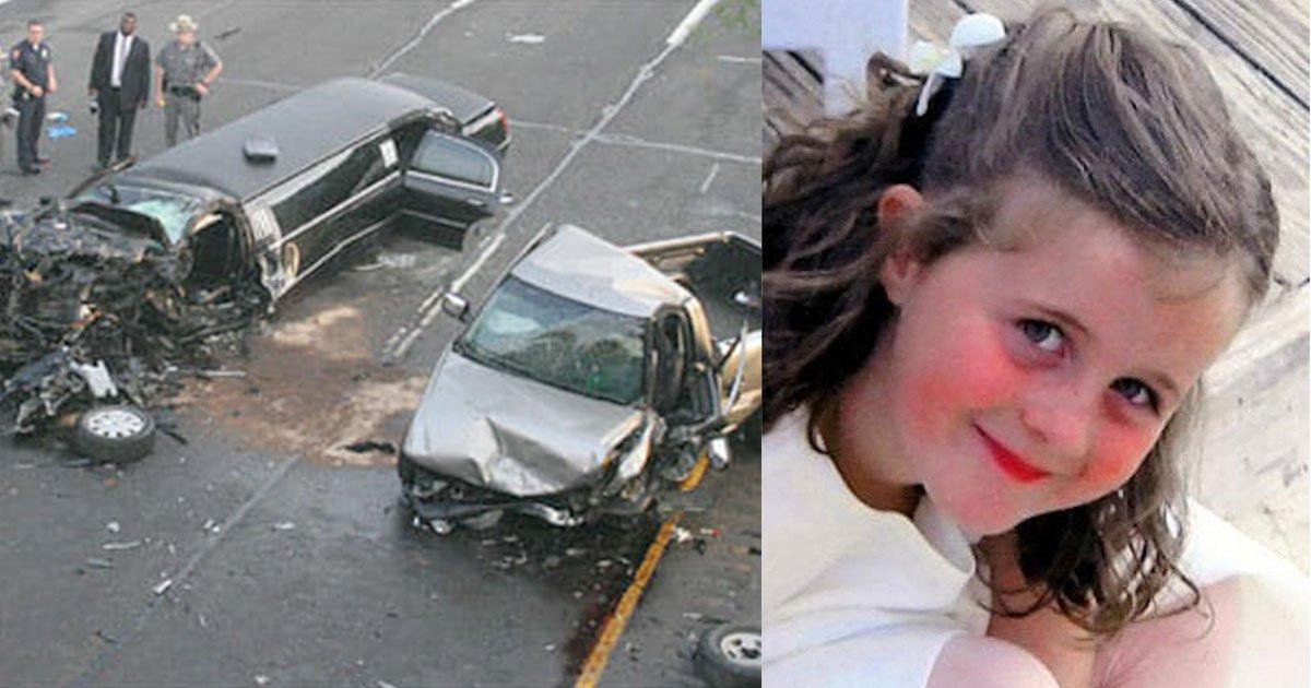 mother was heartbroken to see her daughter decapitated by seat belt after.jpg?resize=412,232 - Un mariage s'est transformé en drame lorsqu'un chauffard ivre s'est écrasé dans la limousine des noces