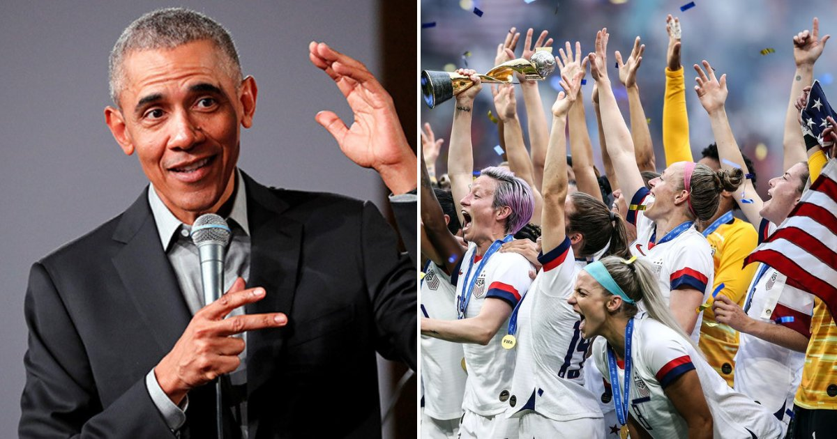 obama2.png?resize=412,232 - Obama Takes Selfie With U.S. Women's Soccer Team Jersey And Calls Them 'America's Best Team'