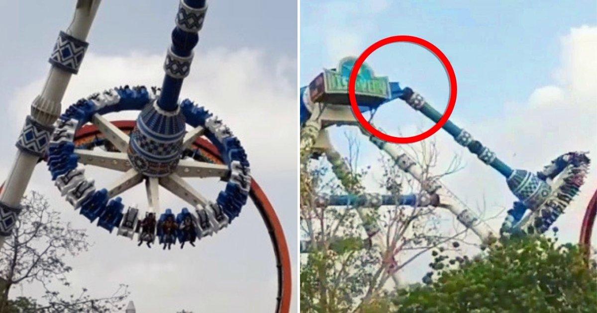 pendulum1.png?resize=1200,630 - Pendulum Ride Snaps In Half Mid-Air At Amusement Park