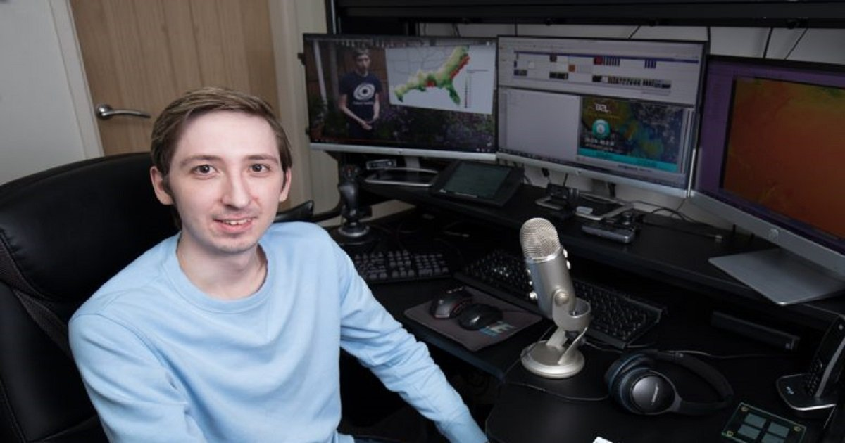 s3 3.jpg?resize=1200,630 - A Genius Who Saves Thousands Of Lives Predicting Storms Is Actually An Autistic Man