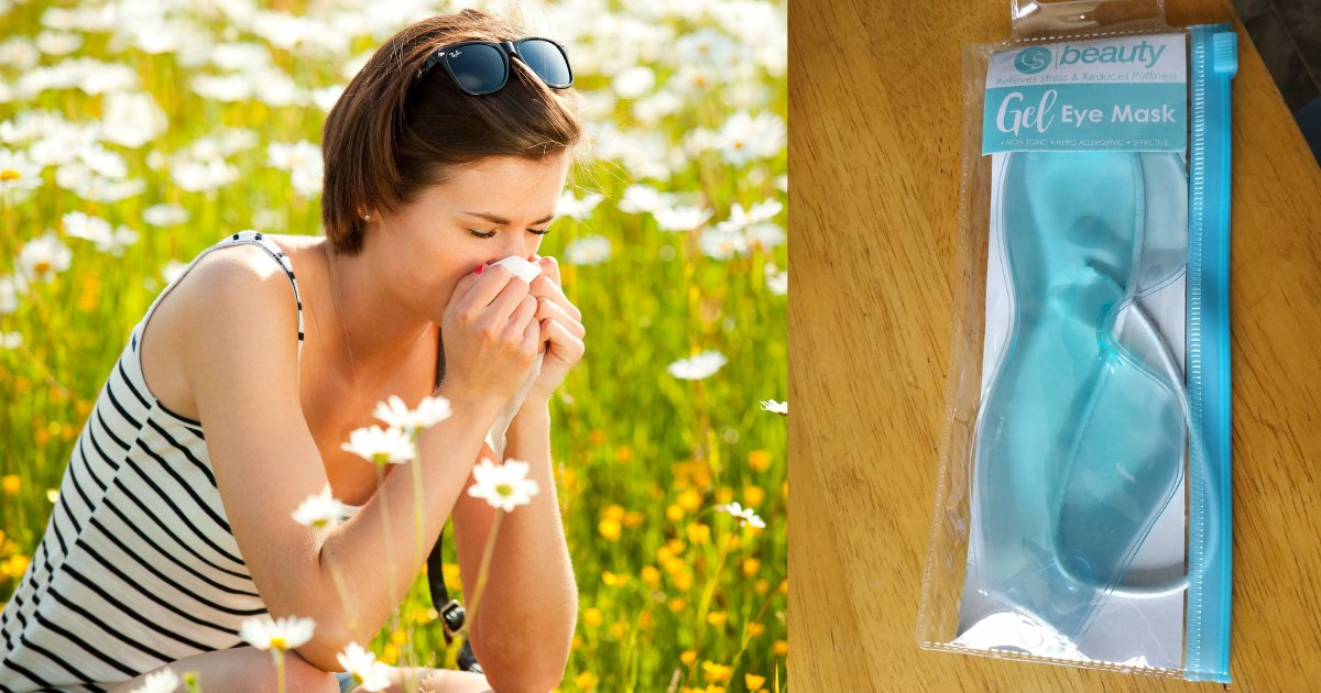 s4.png?resize=412,232 - Sufferer of Hay Fever Claims That 99p Gel Eye Mask From Savers Is Awesome
