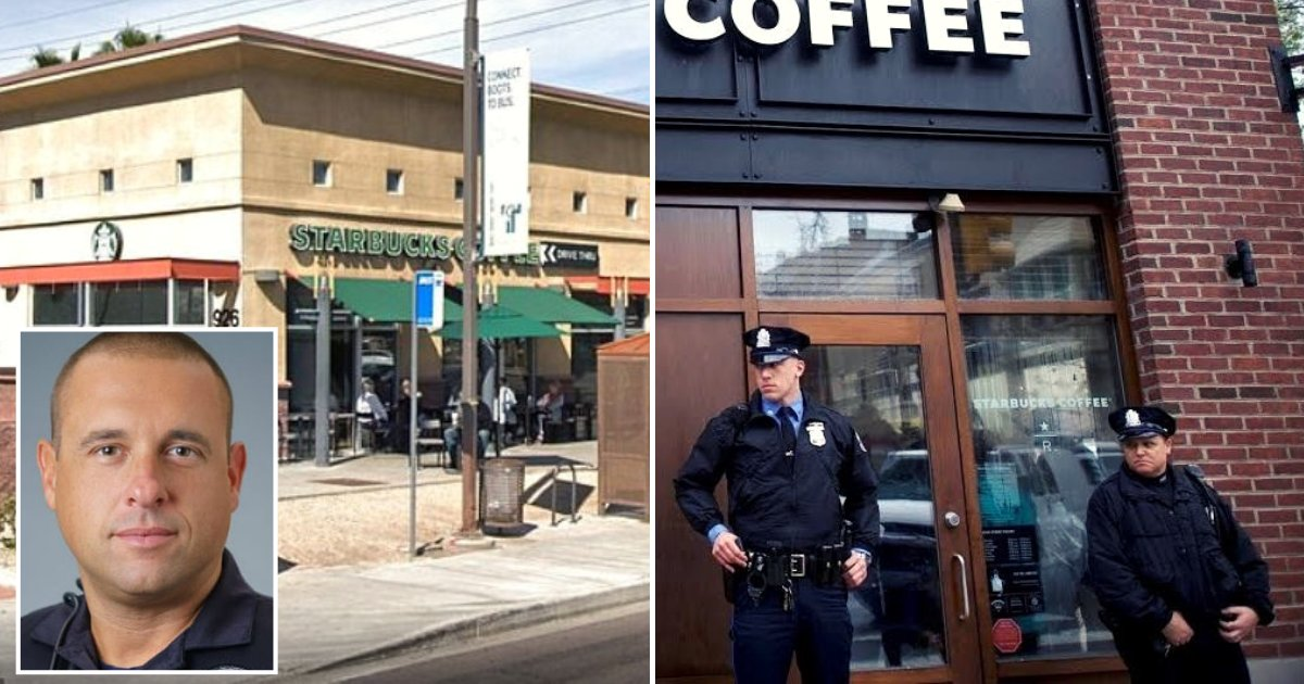 starbucks5.png?resize=412,232 - Police Officers Were Kicked Out Of Starbucks After A Peculiar Customer Complaint
