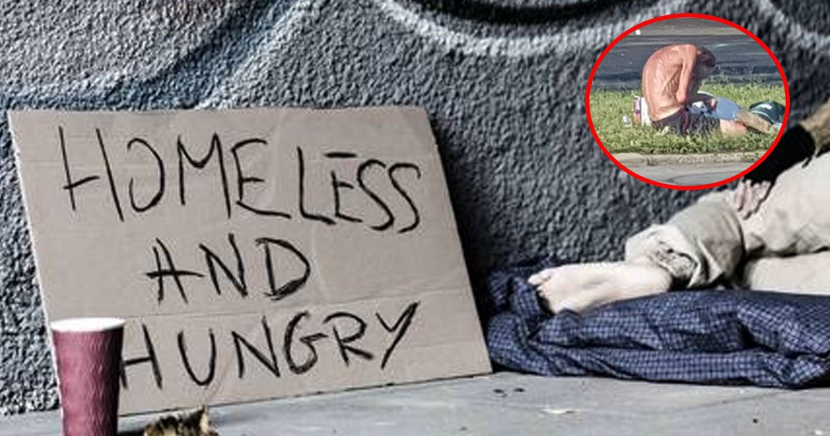 starving homeless man reunited with brother after going viral on social media.jpg?resize=1200,630 - A Starving Homeless Man Reunited With His Brother After His Picture Went Viral On Social Media