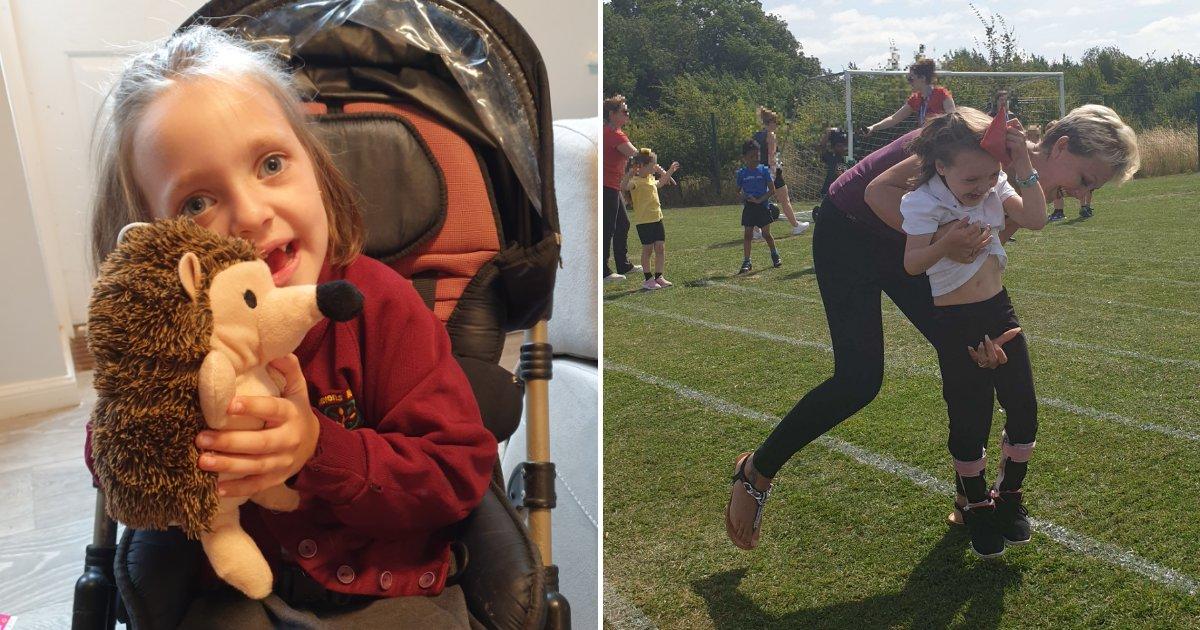 tammy4.png?resize=412,232 - On lui demande de quitter l'école après qu'elle ait essayé d'aider sa fille handicapée à participer à une course