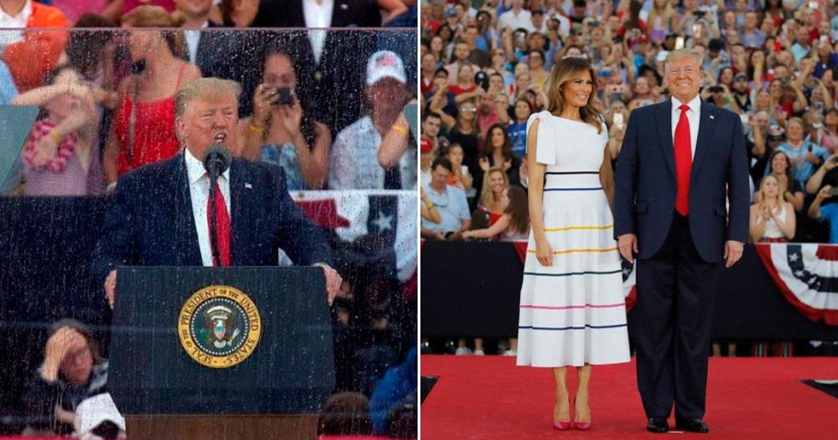 trump4.png?resize=300,169 - Le président Trump a réécrit accidentellement l'histoire au cours de son discours «Salute to America»