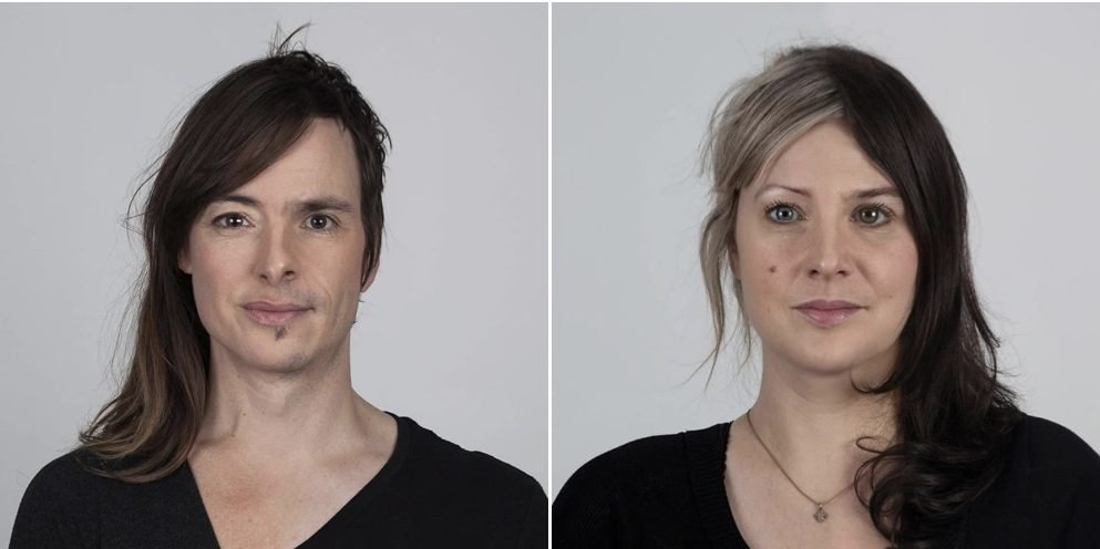 twin 001 e1562892158383.jpeg?resize=412,275 - 30 Pictures That Proves How Strong DNA Of Family Members Could Match By Side-By-Side 'Genetic Portraits'