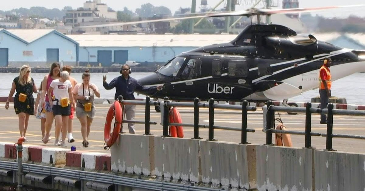 uber launched its first helicopter service in new york.jpg?resize=412,232 - Uber Launched Its First Helicopter Service In New York