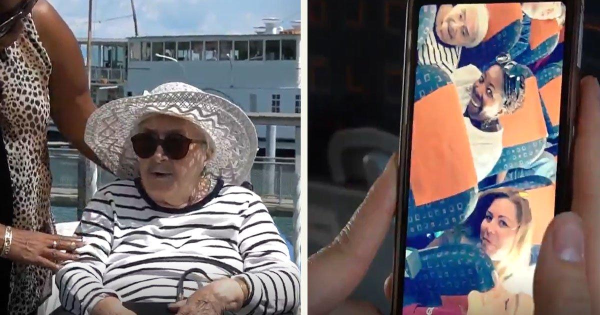 untitled 1 33.jpg?resize=412,232 - Le rêve d'une femme de 95 ans s'est réalisé. Elle a pris un avion pour la première fois!