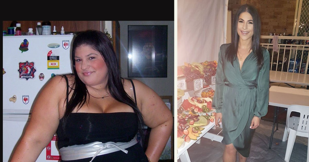 untitled 1 38.jpg?resize=412,232 - A Woman Who Was Forced To Wear Maternity Clothes Due To Her Size Lost 140lbs In An Incredible Transformation