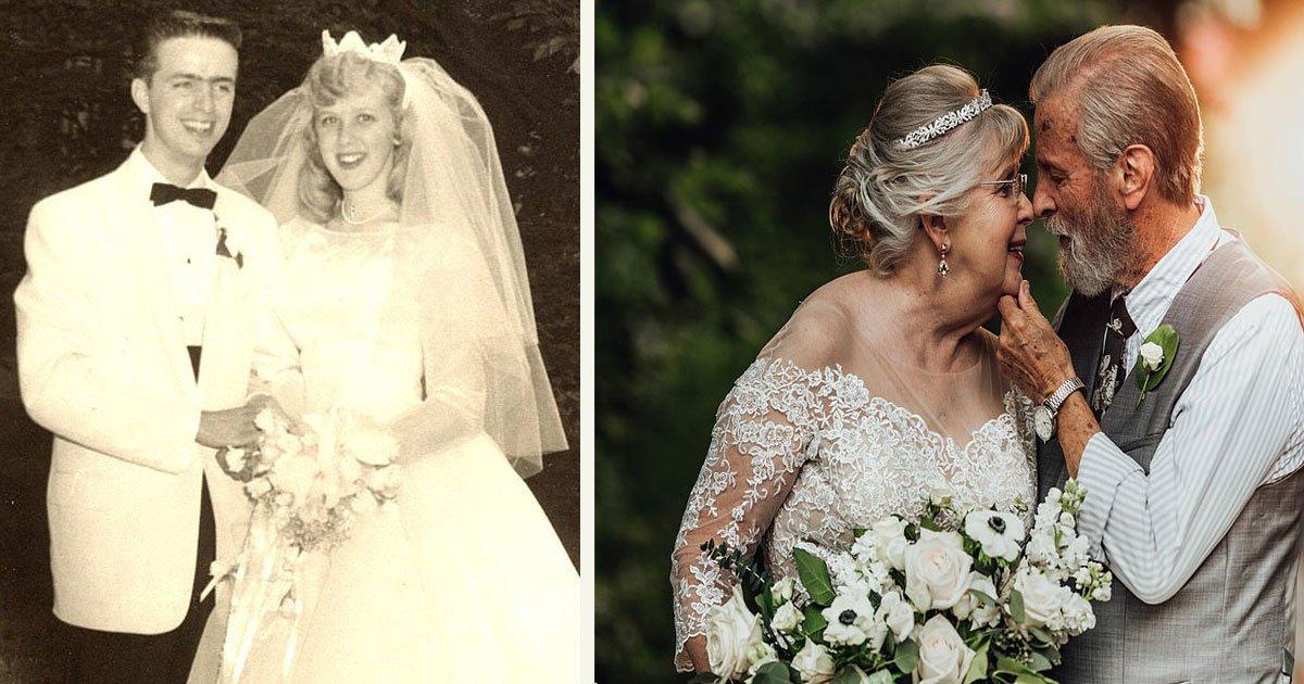 untitled 1 5.jpg?resize=574,582 - Une petite-fille a organisé une séance photo magique pour célébrer le 60e anniversaire de mariage de ses grands-parents