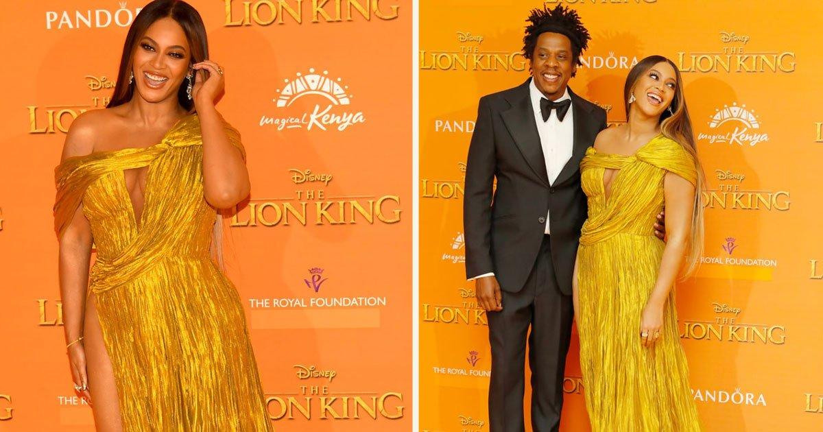 untitled 1 59.jpg?resize=412,232 - Beyoncé a volé la vedette lors de la première du Roi Lion en Europe