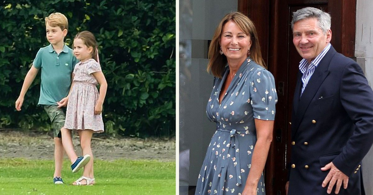 untitled 1 63.jpg?resize=1200,630 - Prince George And Sister Charlotte Were Spotted At A Local Summer Festival With Their Grandparents