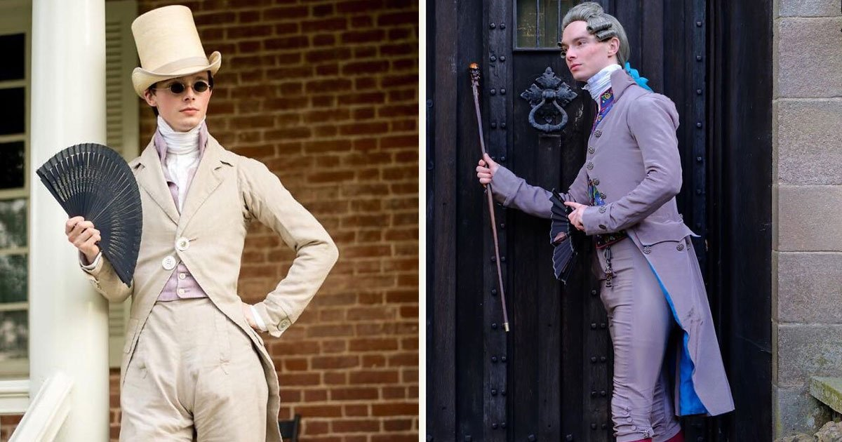 untitled 1 82.jpg?resize=412,232 - This Man Decided Modern Clothes Weren't For Him And Started Designing Historical Costumes For Himself