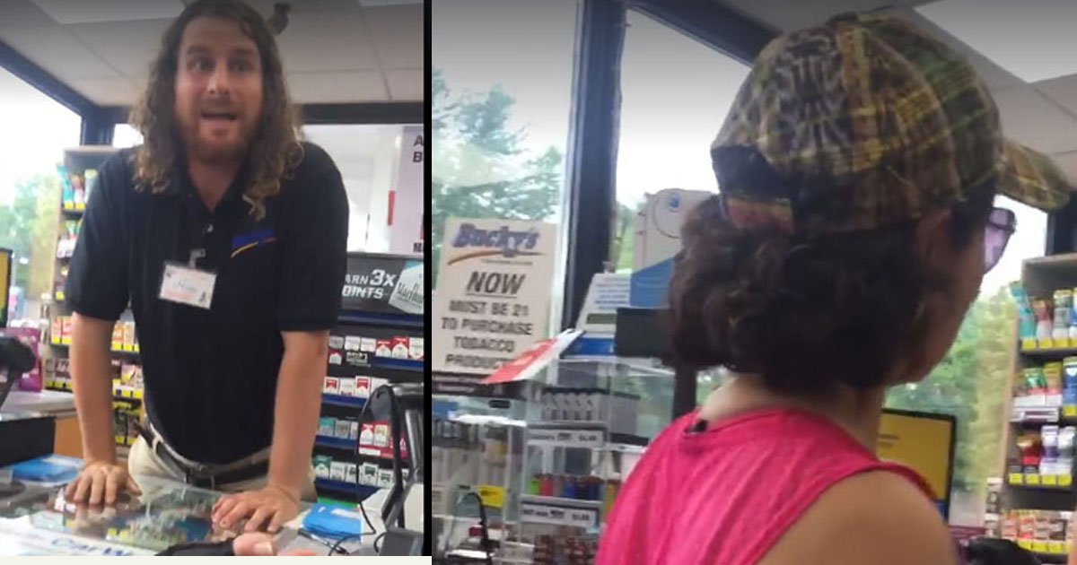 """untitled 1 95.jpg?resize=1200,630 - A Gas Station Clerk Was Fired For Telling Customers To """"Go Back To Their Country"""""""