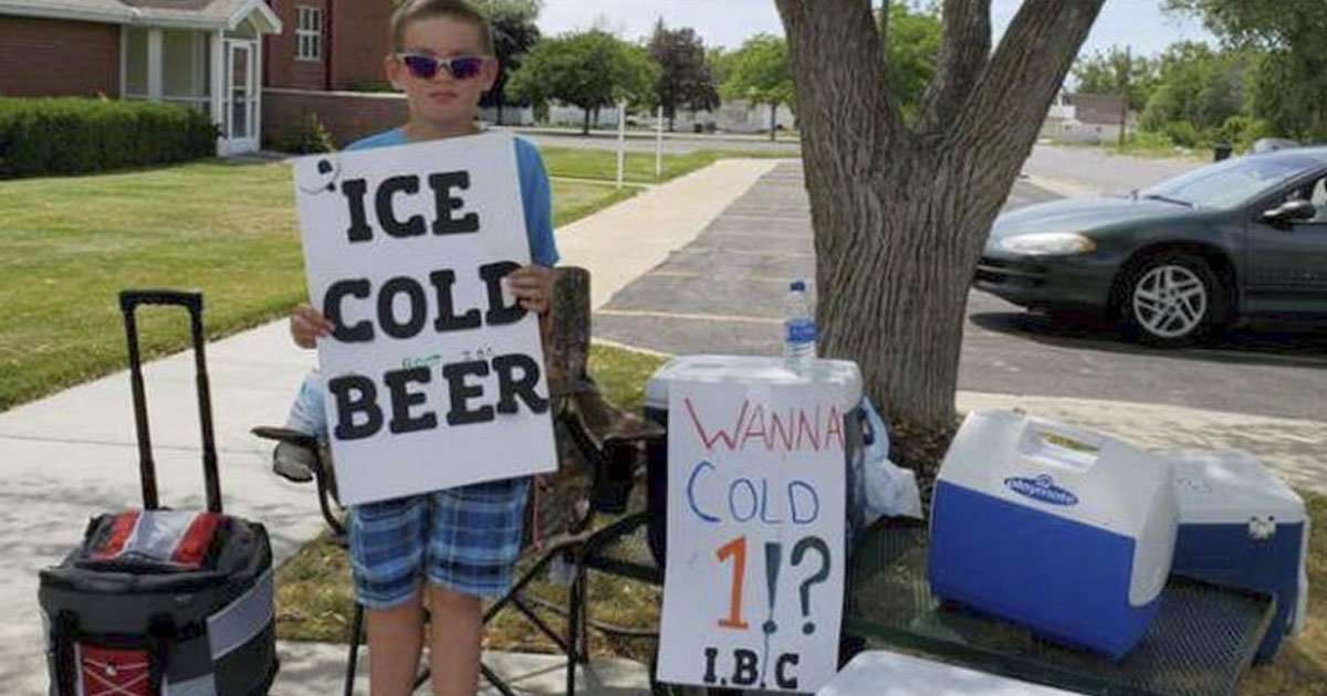 untitled 2 6.jpg?resize=1200,630 - Police Investigated The Boy Selling 'Ice Cold Beer' And Found Out He Was Selling 'Root' Beer