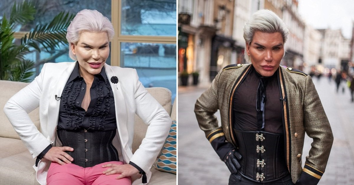 untitled design 24 1.png?resize=1200,630 - Human Ken Doll Proudly Showed Off His Thin Waist After Removing Four Ribs