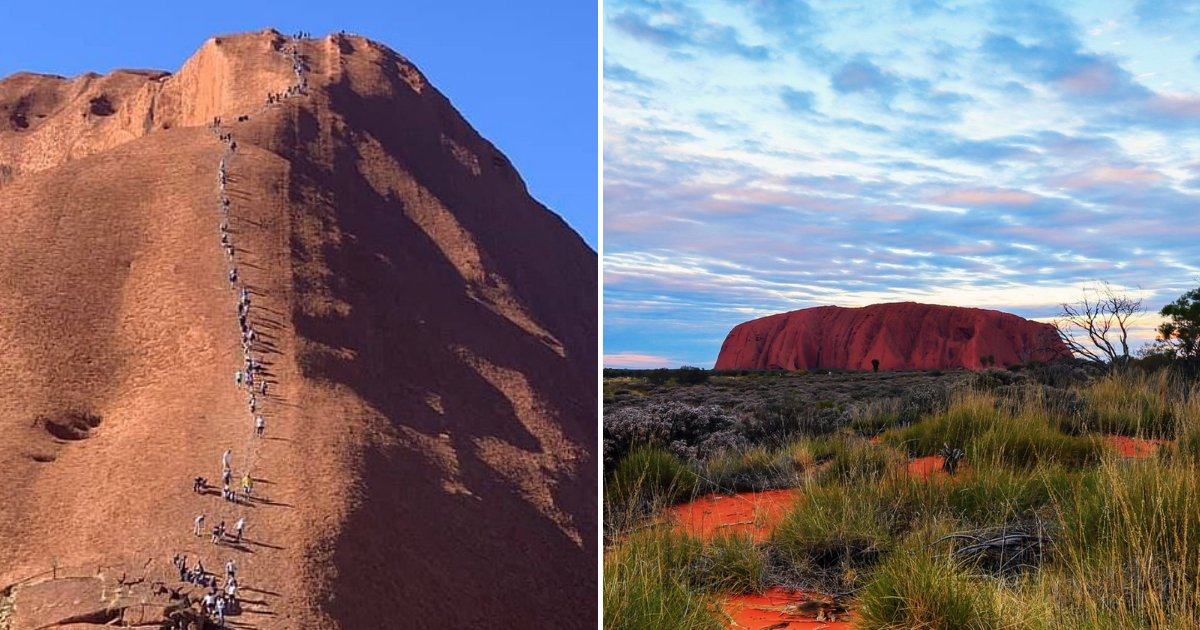 untitled design 25.png?resize=412,232 - Herds Of 'Disrespectful' Tourists Climbing And Polluting The Sacred Uluru Mountain Before The Practice Gets Banned