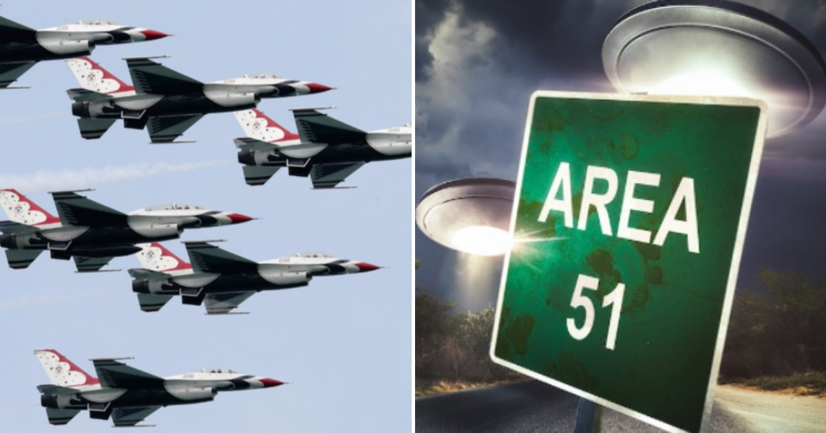 untitled design 37.png?resize=412,232 - US Air Force Sends Clear Warning To People Planning To Raid Area 51 To 'See Them Aliens'
