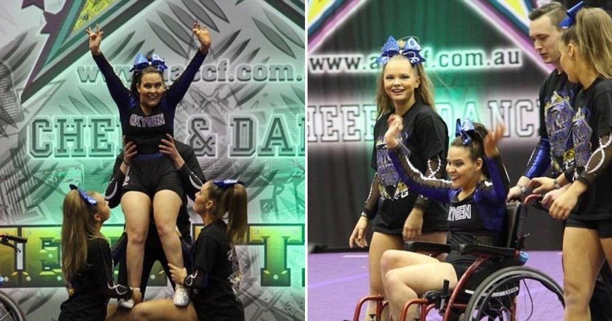 untitled design 44 1.png?resize=412,232 - Une pom-pom girl en fauteuil roulant réalise une incroyable performance