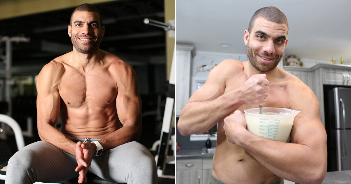 untitled design 51.png?resize=412,232 - Fitness Enthusiast Shares Pictures Of His 4,000-Calorie Meals He Eats Every Day
