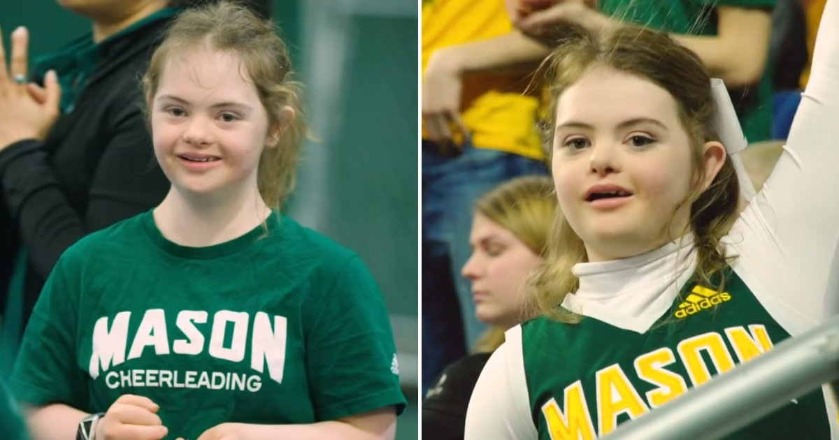 untitled design 56.png?resize=412,232 - Teenager Didn't Let Down Syndrome Stop Her From Becoming A Cheerleader